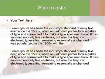 Fried foie gras PowerPoint Template - Slide 2