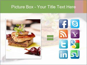 Fried foie gras PowerPoint Template - Slide 21