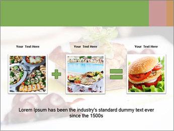Fried foie gras PowerPoint Template - Slide 22