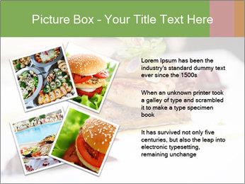 Fried foie gras PowerPoint Template - Slide 23