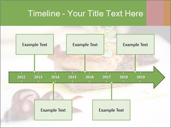 Fried foie gras PowerPoint Template - Slide 28
