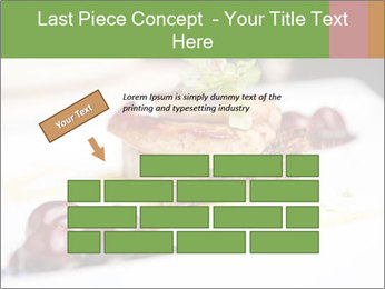 Fried foie gras PowerPoint Template - Slide 46