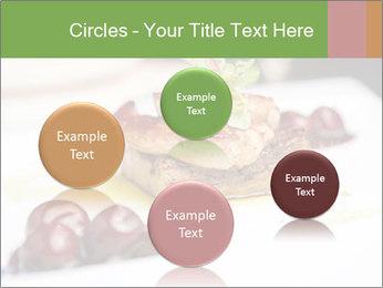 Fried foie gras PowerPoint Template - Slide 77