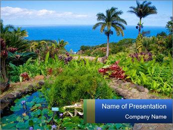 The Garden PowerPoint Template - Slide 1