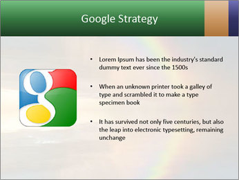 Colorful rainbow PowerPoint Template - Slide 10