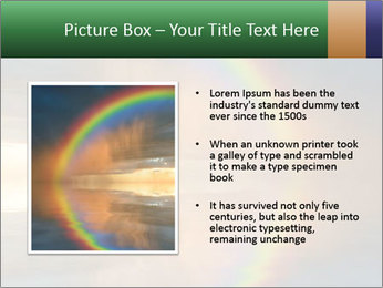 Colorful rainbow PowerPoint Template - Slide 13