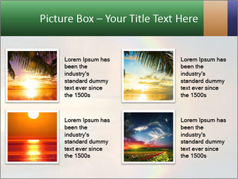 Colorful rainbow PowerPoint Template - Slide 14
