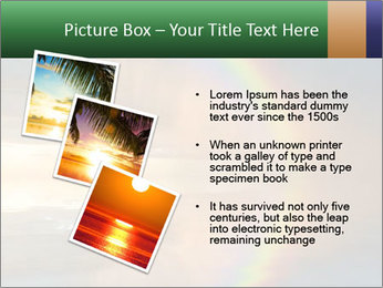 Colorful rainbow PowerPoint Template - Slide 17