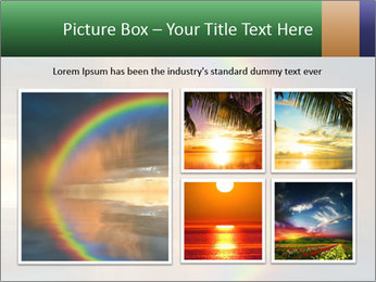 Colorful rainbow PowerPoint Template - Slide 19