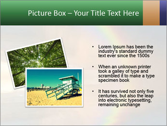 Colorful rainbow PowerPoint Template - Slide 20