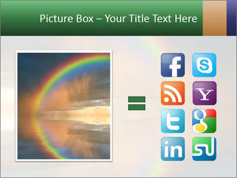 Colorful rainbow PowerPoint Template - Slide 21
