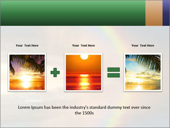 Colorful rainbow PowerPoint Template - Slide 22