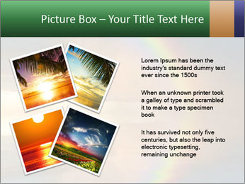 Colorful rainbow PowerPoint Template - Slide 23