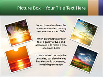 Colorful rainbow PowerPoint Template - Slide 24