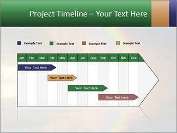 Colorful rainbow PowerPoint Template - Slide 25