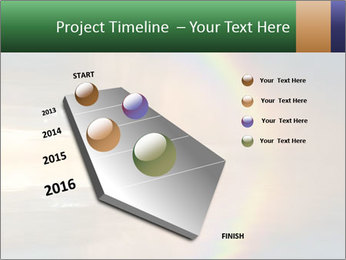 Colorful rainbow PowerPoint Template - Slide 26