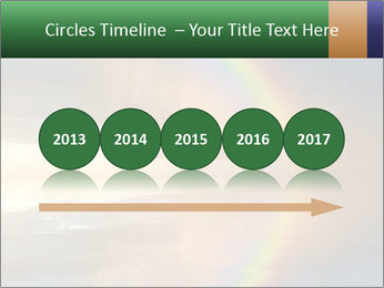 Colorful rainbow PowerPoint Template - Slide 29