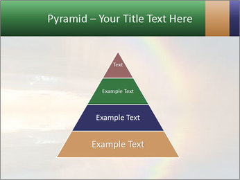 Colorful rainbow PowerPoint Template - Slide 30