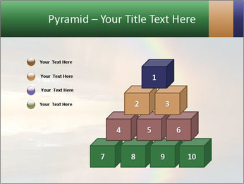 Colorful rainbow PowerPoint Template - Slide 31