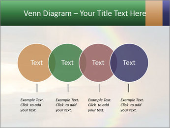 Colorful rainbow PowerPoint Template - Slide 32