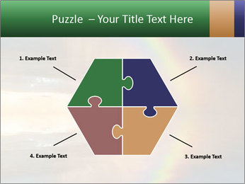 Colorful rainbow PowerPoint Template - Slide 40