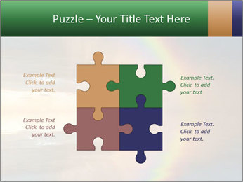 Colorful rainbow PowerPoint Template - Slide 43