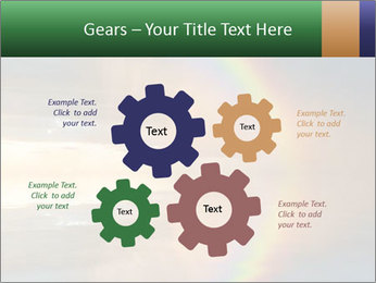 Colorful rainbow PowerPoint Templates - Slide 47