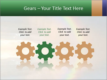 Colorful rainbow PowerPoint Template - Slide 48