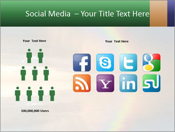 Colorful rainbow PowerPoint Template - Slide 5