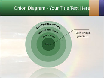 Colorful rainbow PowerPoint Template - Slide 61