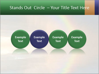 Colorful rainbow PowerPoint Template - Slide 76