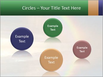 Colorful rainbow PowerPoint Template - Slide 77
