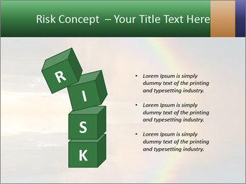 Colorful rainbow PowerPoint Template - Slide 81