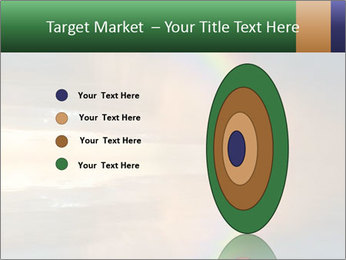 Colorful rainbow PowerPoint Template - Slide 84