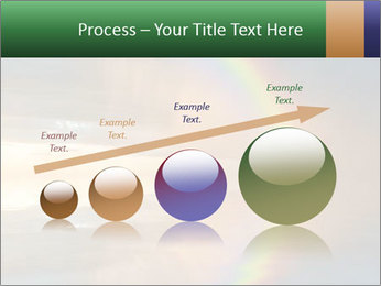 Colorful rainbow PowerPoint Template - Slide 87