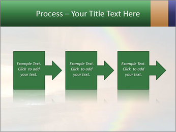 Colorful rainbow PowerPoint Template - Slide 88