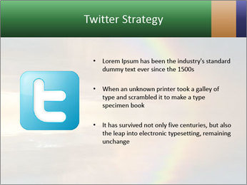 Colorful rainbow PowerPoint Template - Slide 9