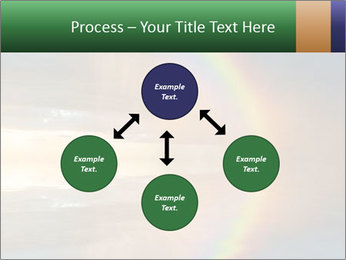 Colorful rainbow PowerPoint Template - Slide 91