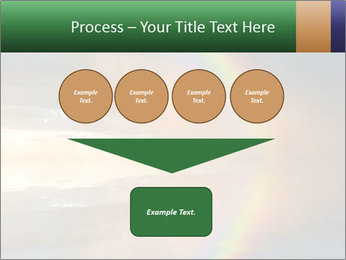 Colorful rainbow PowerPoint Template - Slide 93