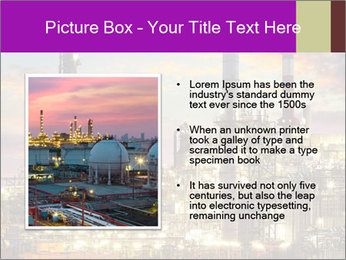Oil refinery PowerPoint Templates - Slide 13