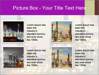 Oil refinery PowerPoint Templates - Slide 14