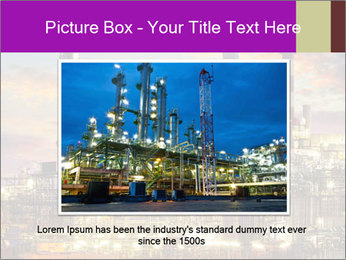 Oil refinery PowerPoint Templates - Slide 16