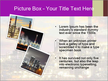 Oil refinery PowerPoint Templates - Slide 17