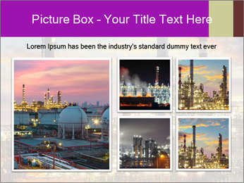 Oil refinery PowerPoint Templates - Slide 19