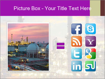 Oil refinery PowerPoint Templates - Slide 21