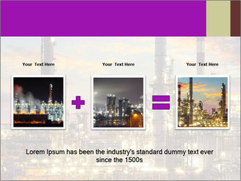 Oil refinery PowerPoint Templates - Slide 22