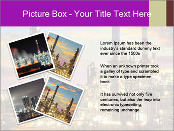 Oil refinery PowerPoint Templates - Slide 23
