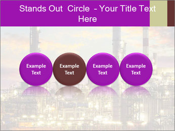 Oil refinery PowerPoint Templates - Slide 76