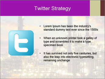 Oil refinery PowerPoint Templates - Slide 9