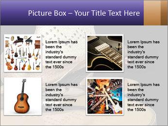 Acoustic guitar PowerPoint Template - Slide 14